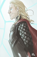 Quick Painting: Thor by IdentityPolution