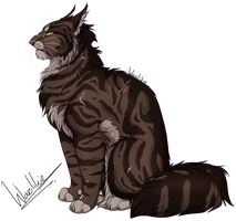 Tigerclaw/star by Wazilikie