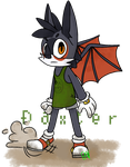 Daxter the Bat by Bored-Tigecko