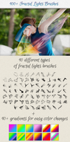 100+ Fractal Lights Brushes for Visual Effects by saimana