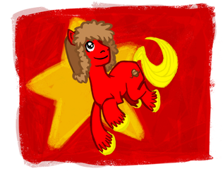 MY LITTLE COMMIE by guezadilla