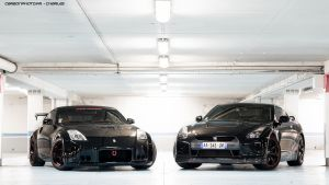 350z or GT-R ? by Charles-Hopfner