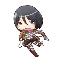 Commission - Mikasa Ackerman by Kirara-CecilVenes