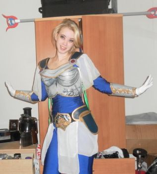 Lux league of legends cosplay by LovisaD