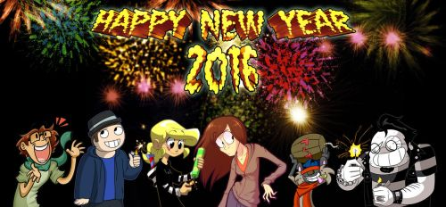 Happy New Year 2016 by s0s2