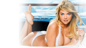 Kate Upton Desktop Background by bunnystick