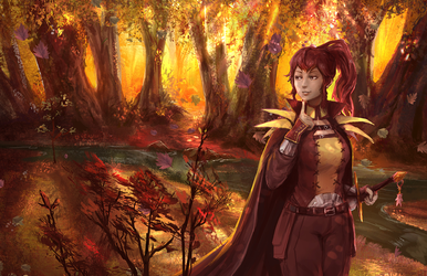 Fire Emblem Anna Commission by Taylor-payton