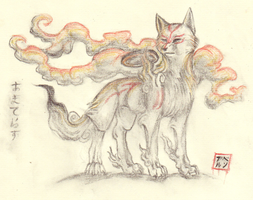The Great God Amaterasu by ARVEN92
