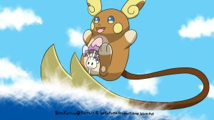 Alola Raichu and Morelull