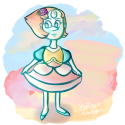 Pearl's old(/new) form: Steven Universe leaks! by KittyCatRainbow