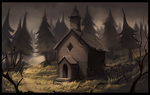 Abandoned Church by ehecod