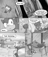 sonic Doujinshi page 3 by RoseRei