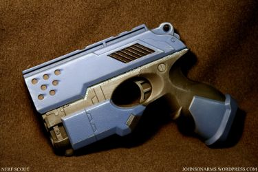 Phase Blue Nerf Scout by JohnsonArmsProps
