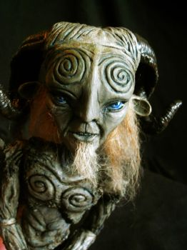 Pan's Labyrinth Faun BJD by mourningwake-press