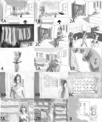 Storyboard for Skip products (1) by Exavierx