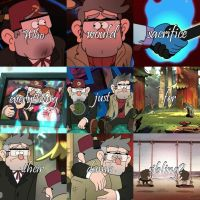 Gravity Falls Quote: Stan and Ford by Freddiemercury1946