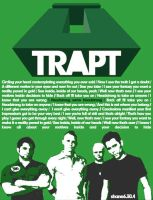 Trapt Headstrong Poster by shane613
