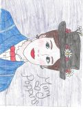 Mary Poppins Drawing by julietcapulet432