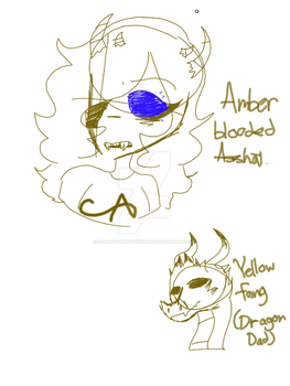 Doodles- everyone's favorite amber blooded asshat by SpunkySparkytheSnake