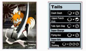 Tails Sfxt Moveset by shadow759