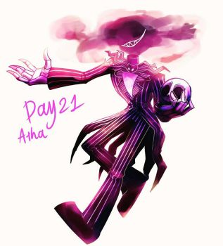 Day 21 -Jack skellington from NBC by paragonkell80