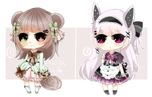[CLOSED] Kemonomimis [AUCTION] by aririzia