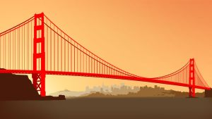 Golden Gate by Kevichan