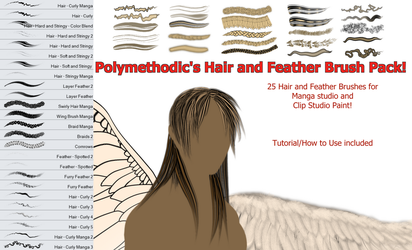 Polymethodic's Hair and Feather Brush Pack! by Polymethodic