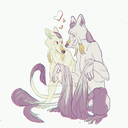 Mienshao by Kreature-Feature