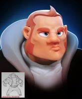 Bad Dude Bust by Art-by-Smitty