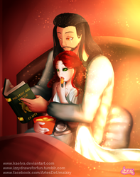CM - Reading Together by Kaelva