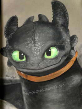 Toothless by diladi