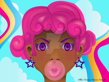 Chicle by LaDamadelaOscuridad