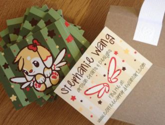 New *And OFFICIAL* Business Cards! by CoffeeCupPup