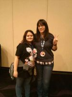 Me and Erica Mendez by DreamNotePrincess