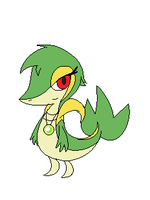 Ivy the Snivy Mspaint Edit by dragovian15