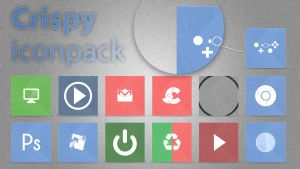 Crispy Iconpack V. 1.1 by wineass