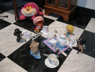 The Tea Party by FoolsGrin