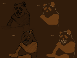 WIP Panda Vector Wall by PiKiNiOuF