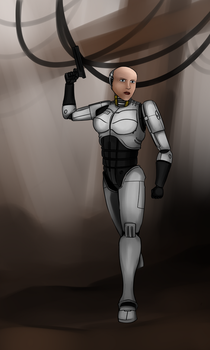 Female Robocop - RoboAnne by ThisOtherWriter