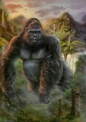 King Kong by dark-spider