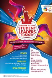 Western Visayas Student Leaders Summit Poster by jlgm25