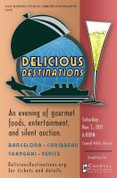 Delicious Destinations 2011 Poster by FlyingKnight