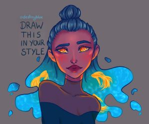Draw this in your style 2 by PaulaAlexandra72
