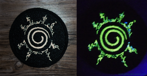 Embroidered GLOW patch - Naruto's seal by goiku