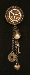 New Lapel Pin - Pearl by turnerstokens