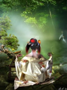 Japanese dreams by Toefje-Kunst
