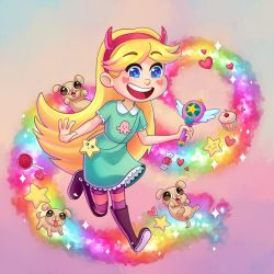 Star Butterfly by TealSeaArt