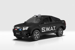 Dacia Duster Pick Up - SWAT 01 by GaryRoswell007