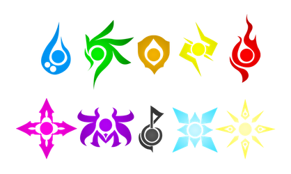 Tales of Ylemia: Element Symbols by akiVinz